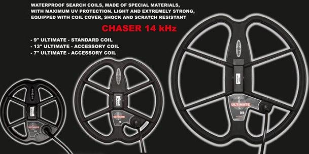 metal detector,chaser,relic striker,detech chaser,eds,ssp,