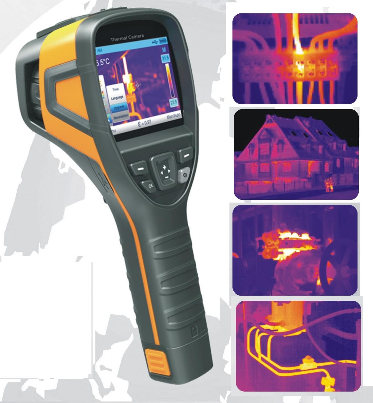 Termocamera termografia telecamera termica flir visore - Termocamera prezzi ...